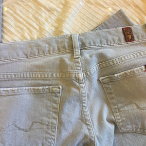 7 For All Mankind Grey Jeans~U need these~size 26